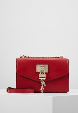 DKNY - ELISSA SHOULDER FLAP - Umhängetasche - bright red