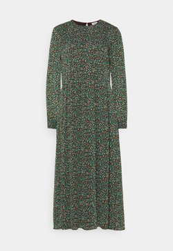 Marc O'Polo DENIM - DRESS LONGSLEEVE ROUND NECK - Maxikleid - multi coloured