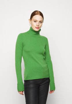 FTC Cashmere - ROLLNECK - Stickad tröja - grün