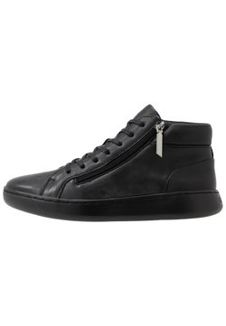 Calvin Klein - FRANSISCO HIGH TOP LACE UP - Sneaker high - black