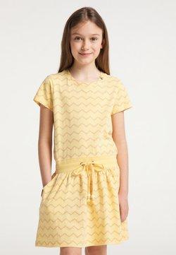 Ragwear - MAGY CHEVRON - Freizeitkleid - yellow