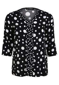 DORIS STREICH - Bluse - schwarz/weiß