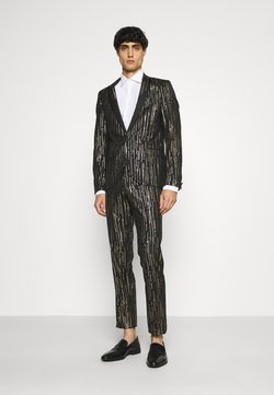 Twisted Tailor - SAGRADA SUIT - Puku - black/gold