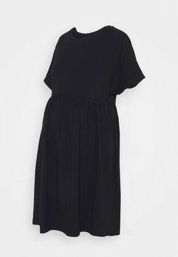 Pieces Maternity - PCMCALLY DRESS - Vestito di maglina - black