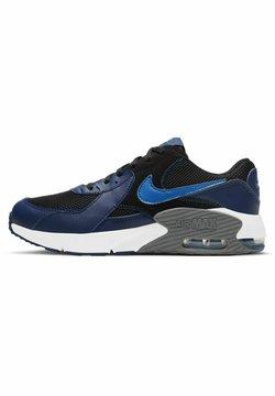 Nike Sportswear - NIKE SPORTSWEAR AIR MAX EXCEE SNEAKER KINDER - Sneakersy niskie - black/blue void/iron grey/signal blue