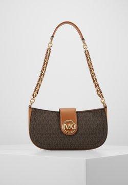 MICHAEL Michael Kors - CARMEN POUCHETTE - Handbag - brown/acorn
