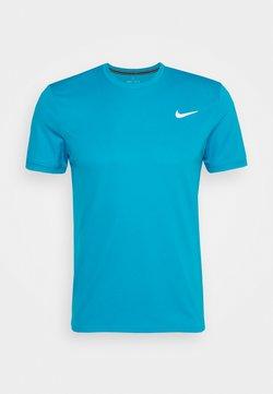 Nike Performance - DRY - T-Shirt basic - neo turquoise/white