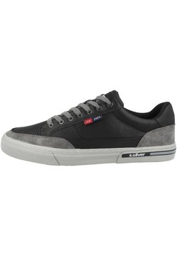 s.Oliver - Sneaker low - black comb (5-13609-35-098)