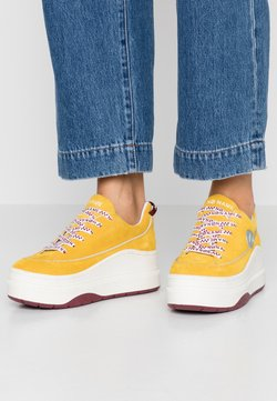 No Name - JUMP DERBY - Sneakers laag - yellow