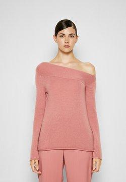 Theory - ASYMMETRIC - Sweter - soft rose