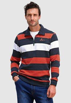 Roger Kent - Sweatshirt - marineblau orange