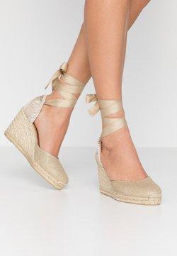 Castañer - CARINA  - Korolliset sandaalit - oro claro