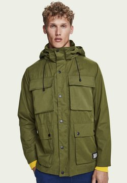 Scotch & Soda - POCKET MILITARY JACKET - Parka - military green