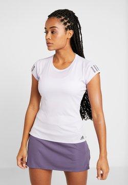 adidas Performance - CLUB TEE - T-Shirt print - purple