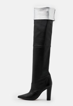 Toral - LAVA - Laarzen met hoge hak - black/silver