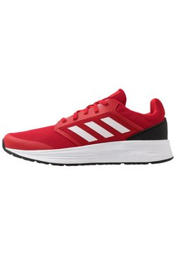adidas Performance - GALAXY CLASSIC CLOUDFOAM SPORTS RUNNING SHOES - Zapatillas de running neutras - scarlet/footwear white/core black