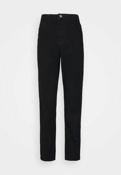 Missguided Tall - RIOT MOM  - Jeans Straight Leg - black