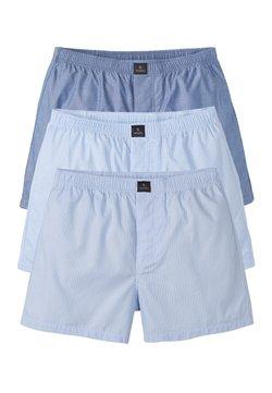 recolution - 3 PACK - Boxershorts - light blue/white
