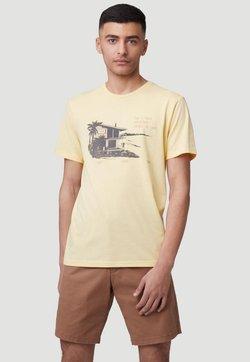 O'Neill - T-shirt med print - gold haze