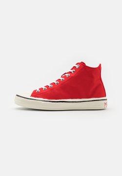 Marni - Sneaker high - flamingo/white