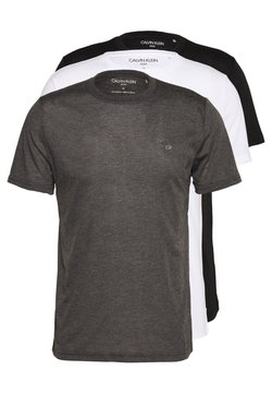 Calvin Klein Golf - HARLEM TECH 3 PACK - T-shirt - bas - black/white/charcoal