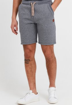 Solid - Shorts - dark grey melange
