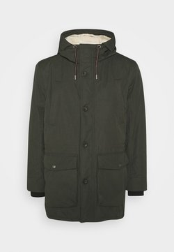 TOM TAILOR MEN PLUS - WITH HOOD - Parka - shadow olive