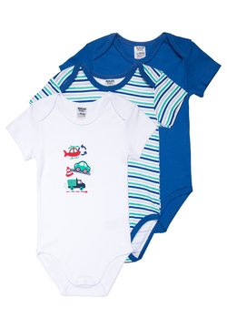 Jacky Baby - KURZARM MULTIPACK BOYS 3 PACK - Body - blue