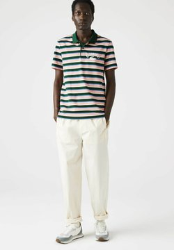Lacoste - Poloshirt - grün/ blau/ rosa/ beige/weiß