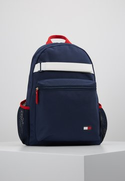 Tommy Hilfiger - KIDS FLAG BACKPACK - Reppu - blue