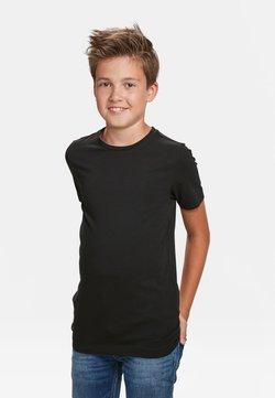 WE Fashion - T-shirt basic - black