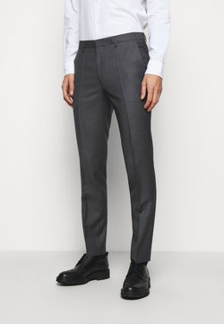 HUGO - HESTEN - Trousers - medium grey