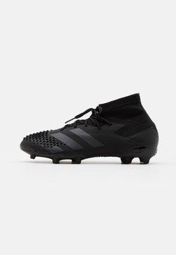 adidas Performance - PREDATOR MUTATOR 20.1 FOOTBALL BOOTS FIRM GROUND UNISEX - Fußballschuh Nocken - core black/shock pink