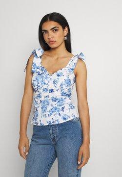River Island - T-Shirt print - blue
