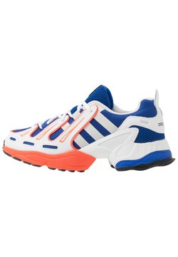 adidas Originals - EQT GAZELLE RUNNING-STYLE SHOES - Baskets basses - power blue/grey one/solar red