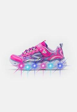 Skechers - HEART LIGHTS - Sneaker low - neon pink
