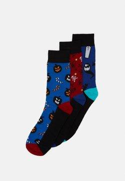 Jack & Jones - JACHALLOWEEN SOCK GIFTBOX 3 PACK - Socken - chili pepper/victoria blue