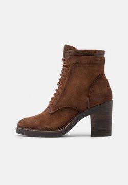 Tamaris - BOOTS - High heeled ankle boots - maroon