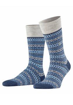 Burlington - ISLE - Socken - dark blue mel