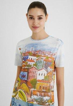 Desigual - T-shirt con stampa - white