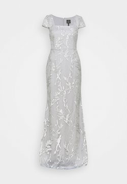 Adrianna Papell - SEQUIN EMBROIDERY MERMAID GOWN - Abito da sera - silver dove
