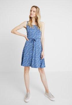 edc by Esprit - DRESS - Jerseykjoler - grey blue