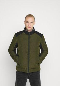 Calvin Klein - QUILTED JACKET - Overgangsjakker - green