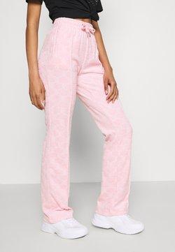 Juicy Couture - TOWEL TINA TRACK PANTS - Jogginghose - almond blossom