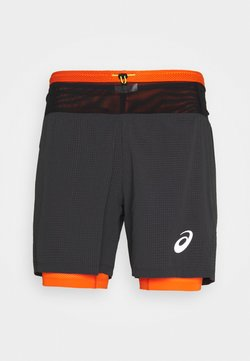 ASICS - FUJITRAIL SHORT - Pantalón corto de deporte - graphite grey