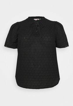 ONLY Carmakoma - CARAGATA - Bluse - black