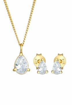 Elli - JEWELRY SET CLASSIC - Collar - gold