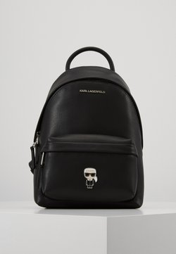 KARL LAGERFELD - IKONIK PIN BACKPACK - Reppu - black