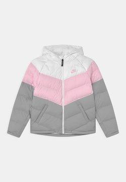 Nike Sportswear - SYNTHETIC FILL UNISEX - Winterjacke - white/pink foam/light smoke grey