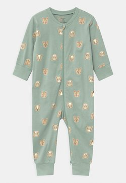 Lindex - MOUSE AT BACK UNISEX - Pyjama - light dusty aqua